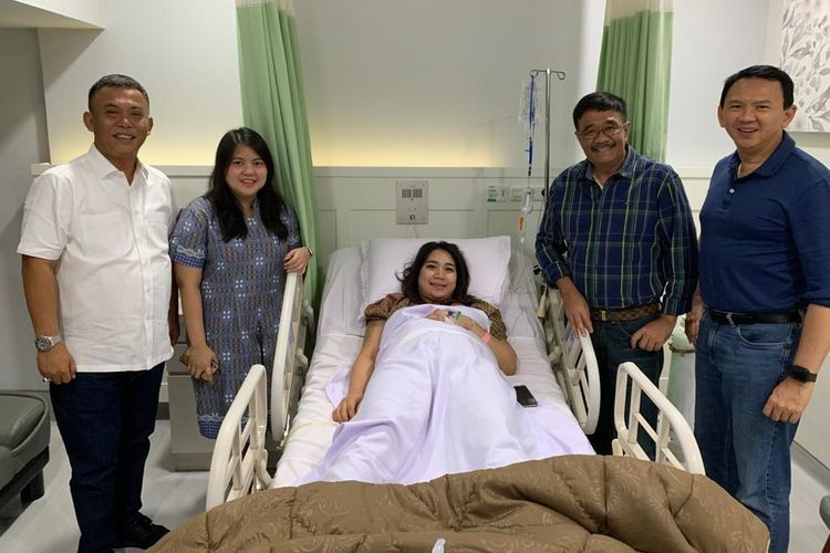 It's a boy! Ahok welcomes fourth child