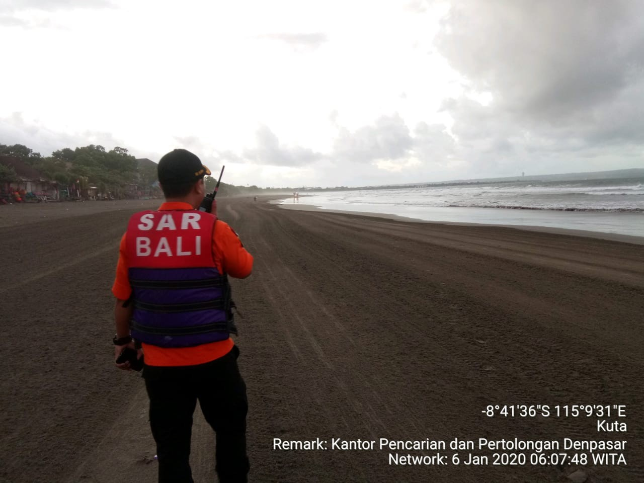 Colombian man found dead after swept away by waves off Bali's Seminyak Beach