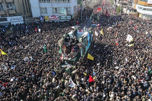 Iranians mass for funeral in hometown of general killed by US