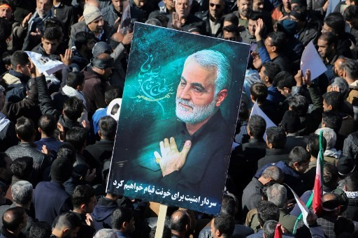 Mourners dead in stampede at Iran general's funeral: TV