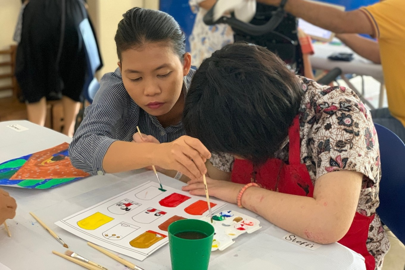 Terartai helps special-needs students find a purpose in life