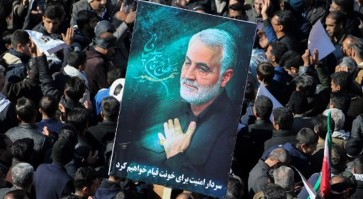 Thousands of Iraqis attend funeral of paramilitary chief Abu Mahdi al-Muhandis