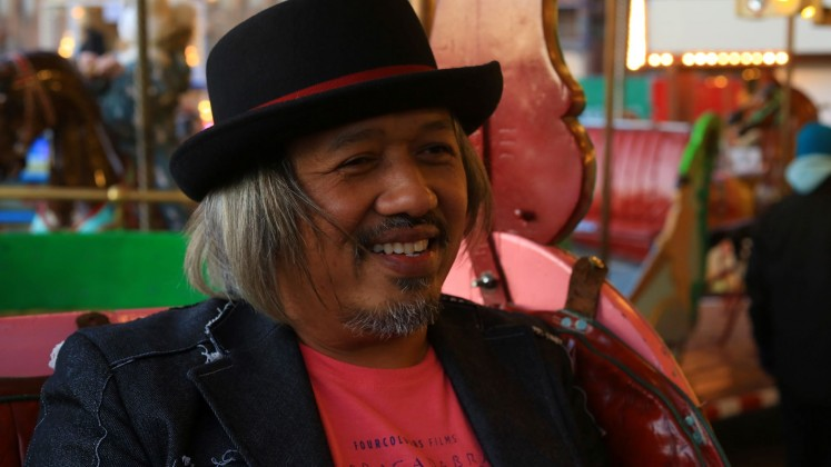 The filmmaker: Faozan Rizal started his career in the film industry as cinematographer and