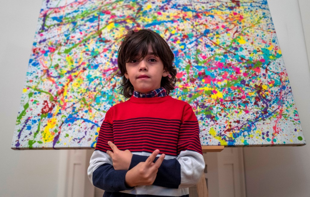 'Pre-school Picasso' shakes up German art world
