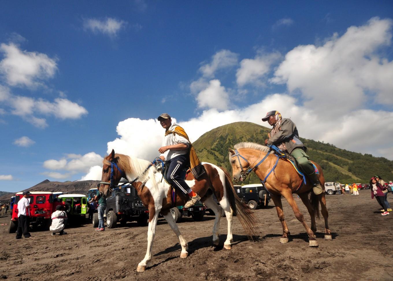 Saddle up: Mount Bromo park to impose car-free month