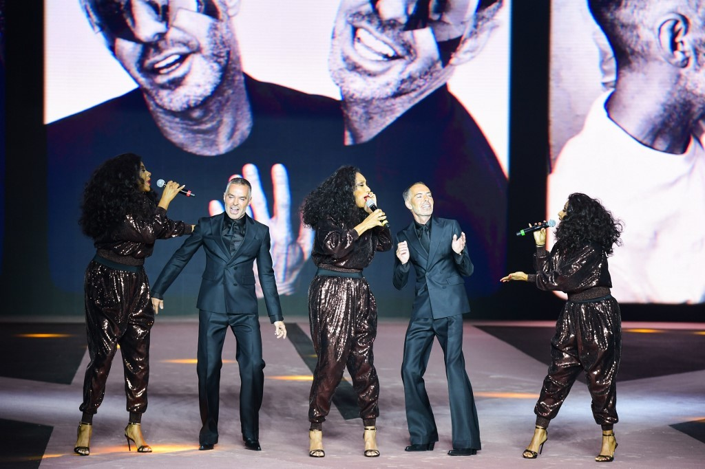 Dsquared2 kick off Milan men's fashion week to Sister Sledge