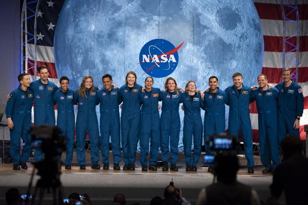 Eyeing Moon, NASA hosts first public astronaut graduation ceremony