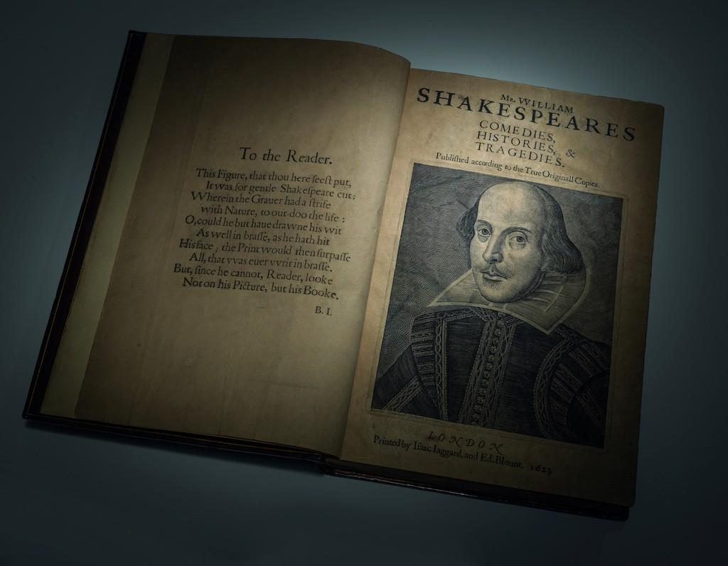 Shakespeare's First Folio to be sold at auction in New York in April
