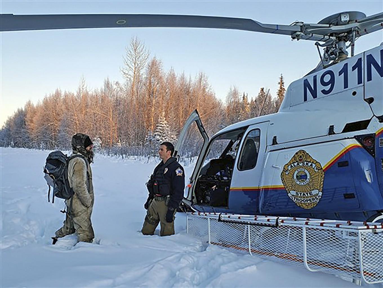 Survivor tells of 20 days in freezing Alaska after cabin burned down