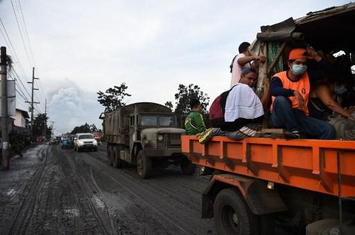 Dozens of Indonesians seek refuge from Mt. Taal eruption at Manila embassy