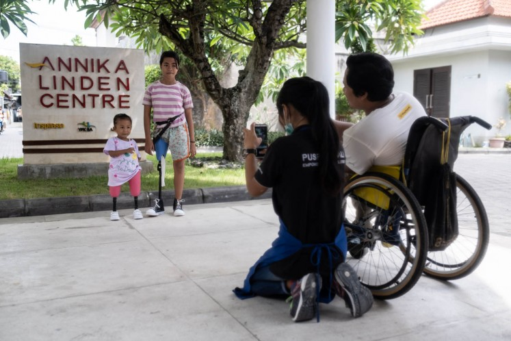 Ray of hope for disabled children