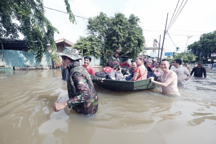Ministry aims for holistic flood mitigation