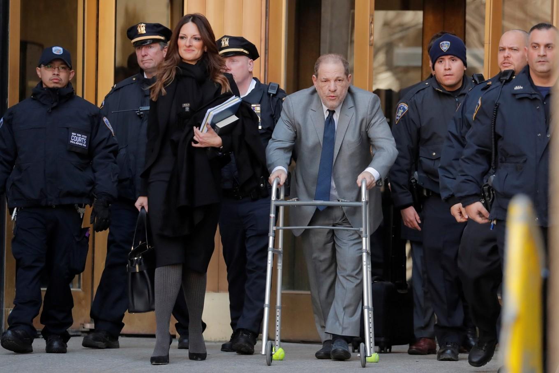 Seven Weinstein jurors picked as model Gigi Hadid is excused