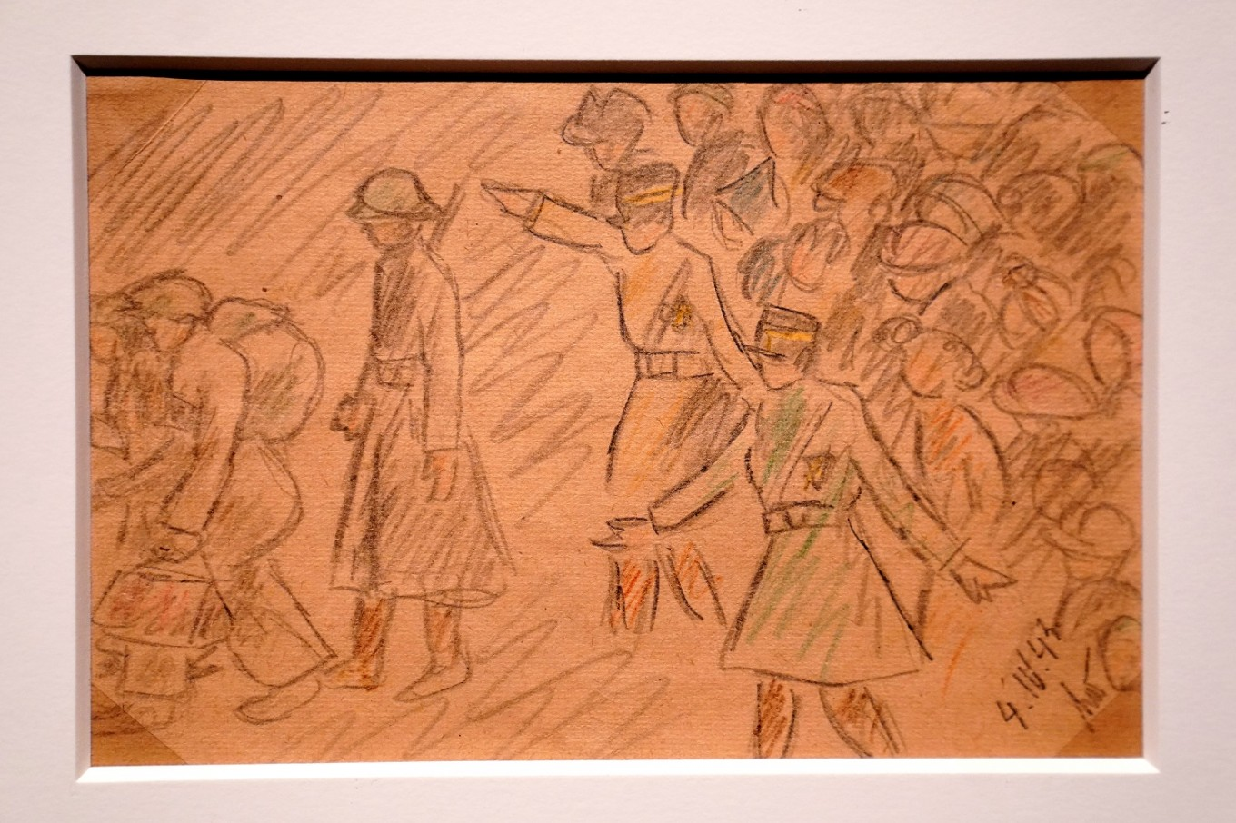 Eyewitness to horror: New York museum opens exhibit of art by Holocaust victims
