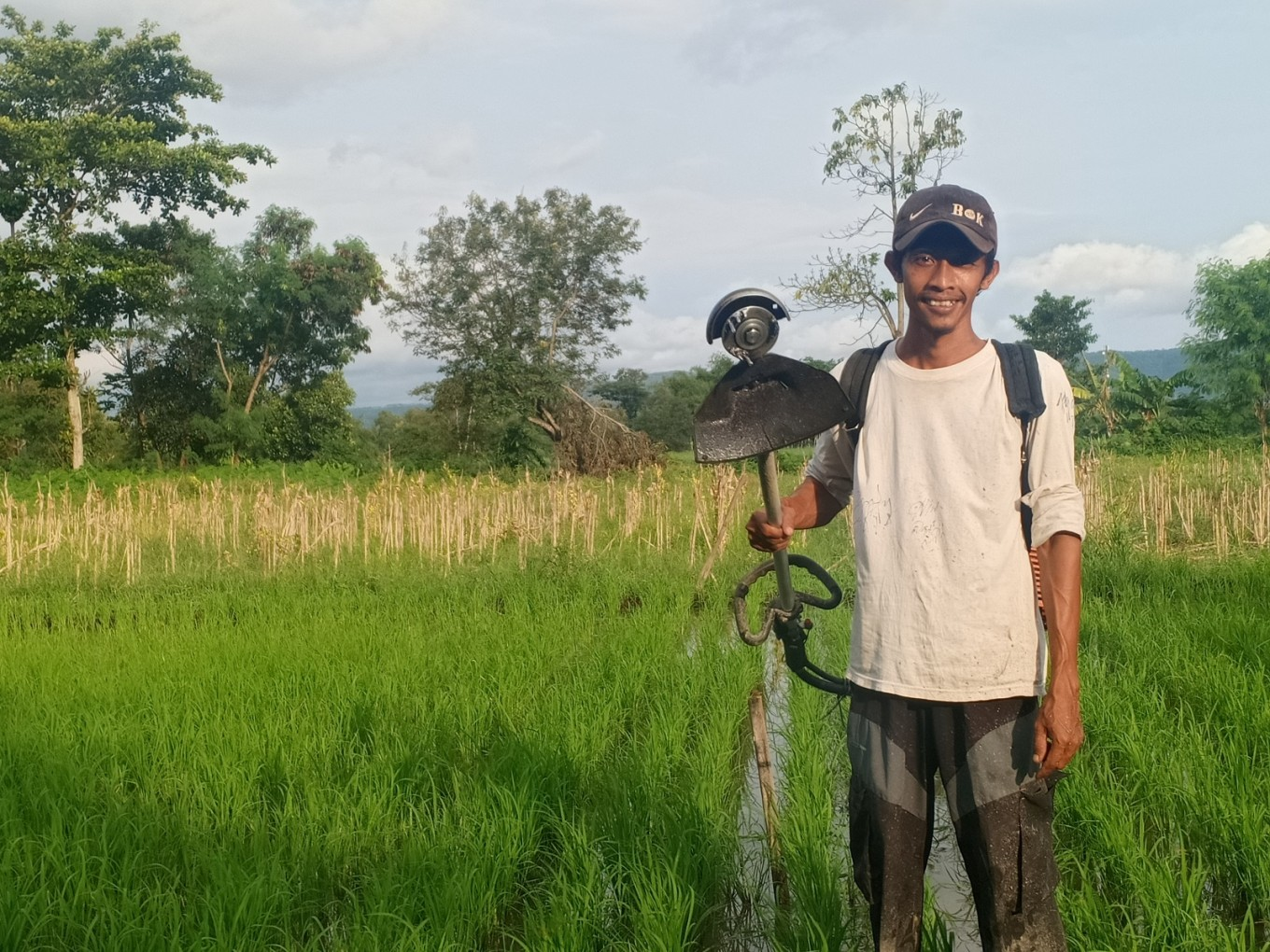 Young law graduate finds a simple farmer's life a happy life