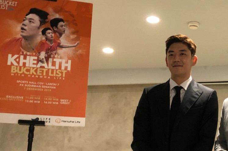 South Korean shuttler Lee Yong-dae uses celebrity status to promote badminton