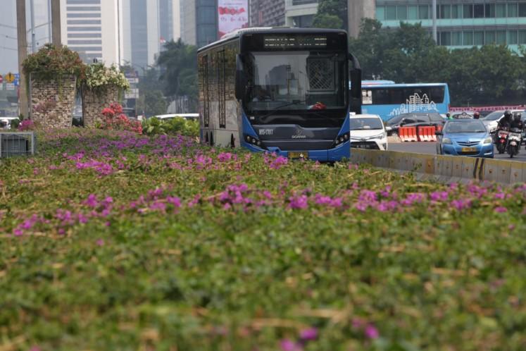 Transjakarta strives for more sustainable urban transportation
