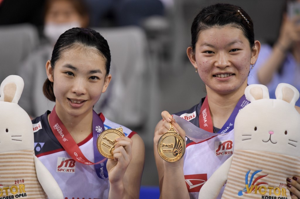 Japan's domination in women's doubles badminton starts to weaken
