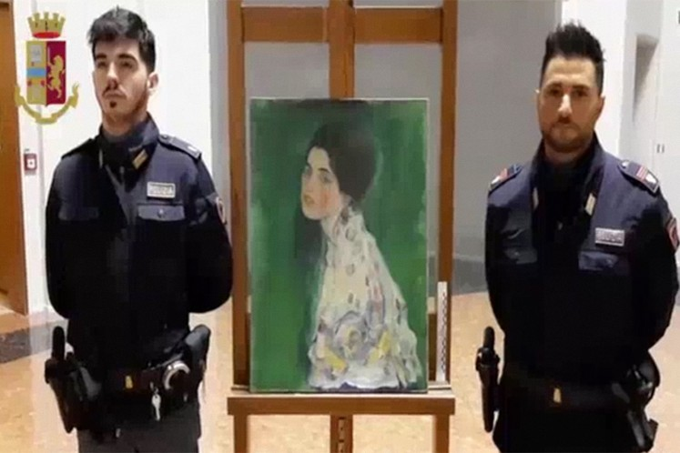 Stolen $66 million painting found in museum wall is authentic
