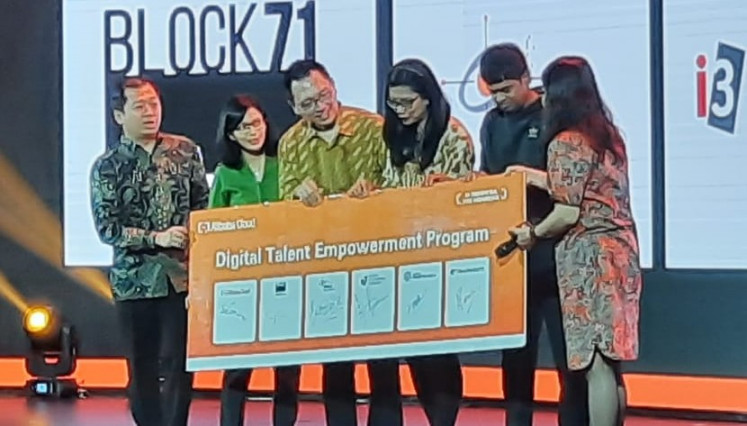 Alibaba teams up with Indonesian universities, tech providers, incubator to offer cloud tech training