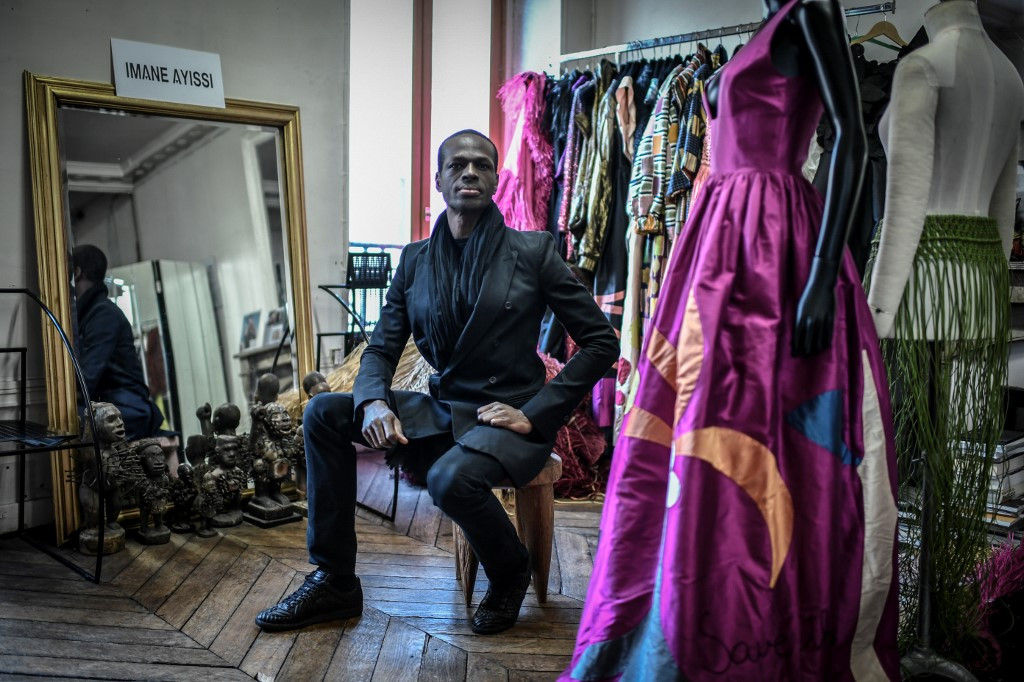 Designer Ayissi Is First Black African At Fashion S Top Table Lifestyle The Jakarta Post
