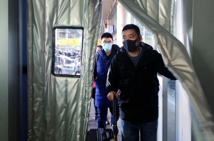 Travel advisory issued amid China's coronavirus outbreak