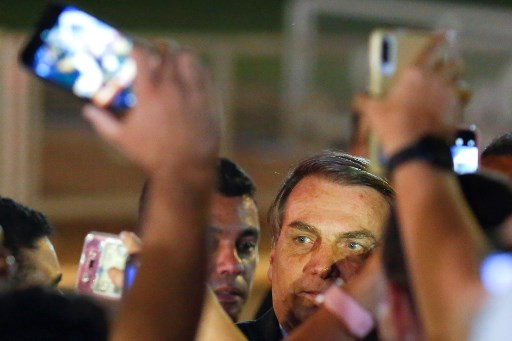 Brazil's Bolsonaro says no more media interviews