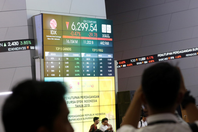 IDX imposes trading halt on five Jiwasraya-linked stocks
