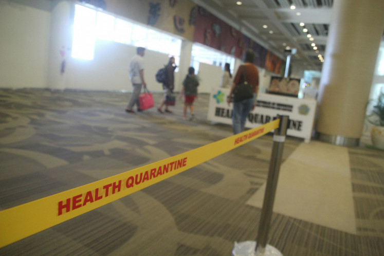 Two Chinese tourists in Bali receiving treatment amid coronavirus scare