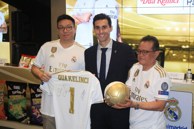 Indonesian peanut brand Dua Kelinci inks new deal with Real Madrid