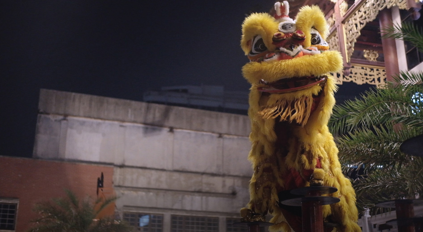 The history of 'barongsai' in Indonesia