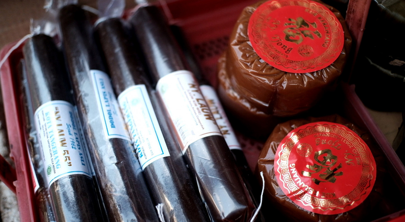 'Nian Gao' and 'dodol': Imlek treats that stick to tradition