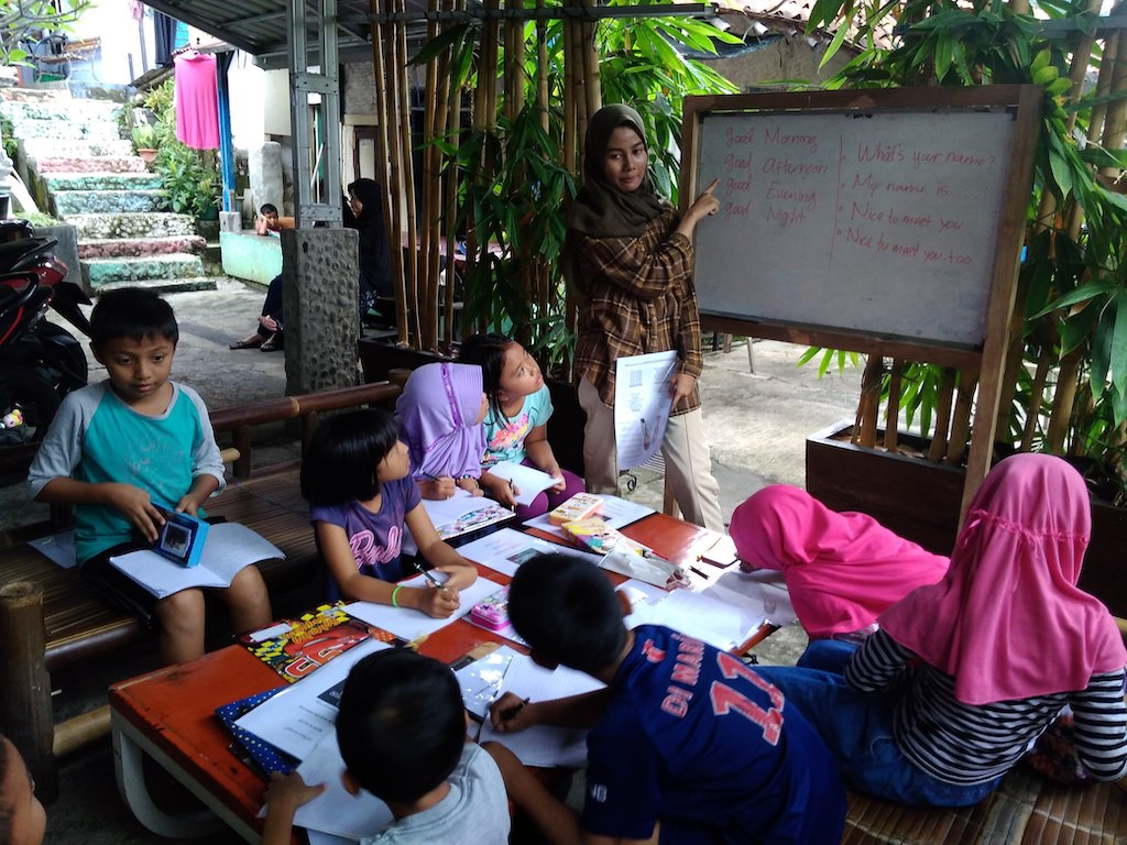 Sempur English Camp in Bogor preps children for brighter future