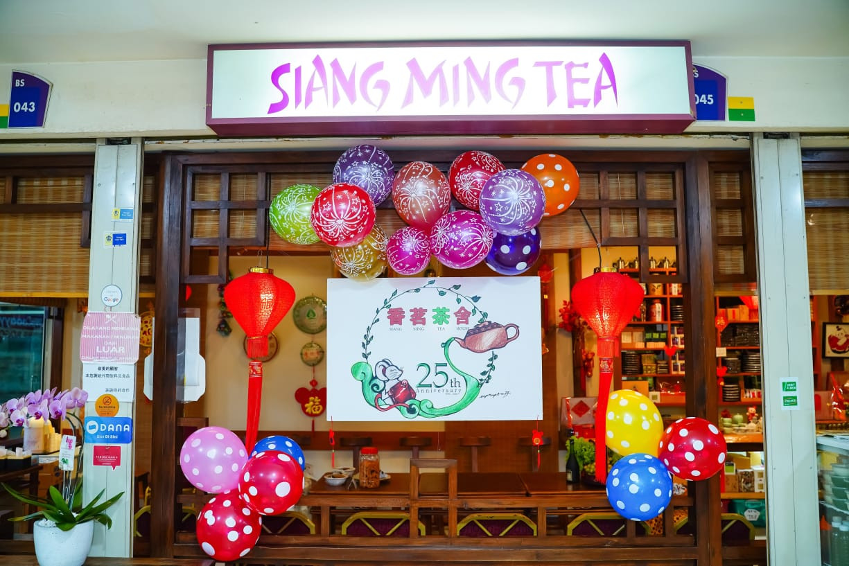 Siang Ming: A Chinese tea oasis in Jakarta
