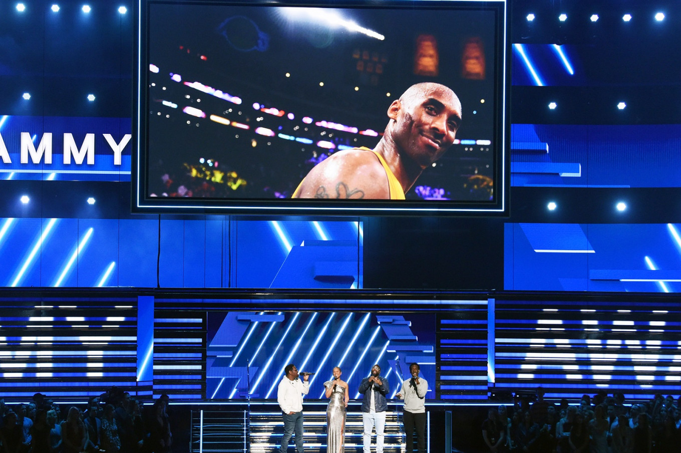 Grammys gala begins with love letter to late NBA star Kobe Bryant