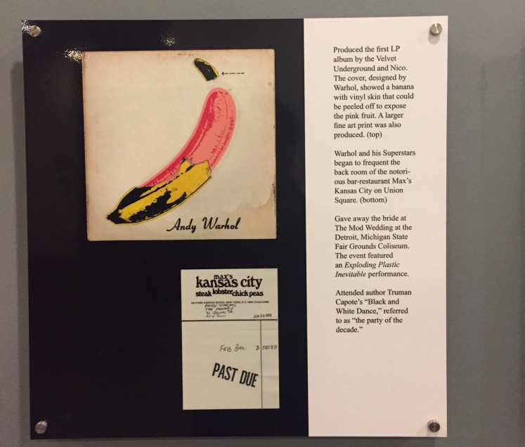 The Andy Warhol Museum in downtown Pittsburgh, holds the largest collection of arts and archives from the pop-art icon.