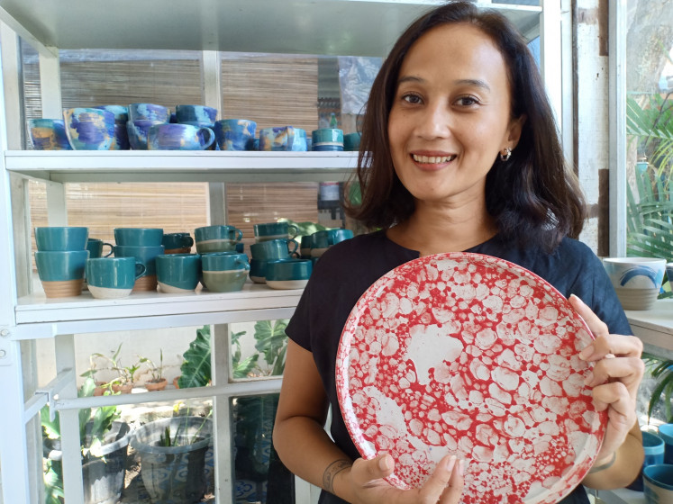 Kaloka Pottery founder Francisca Puspitasari