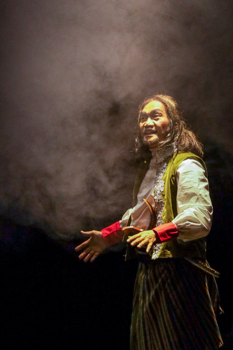 Scheming: The title character Panji Reso (Whani Darmawan) is a palace warrior with ambitions of nobility and royalty.