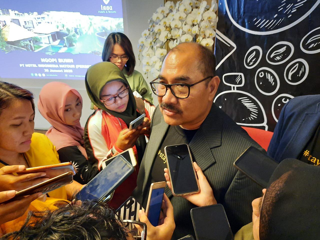 Wuhan coronavirus hits Hotel Indonesia Natour's business in Bali