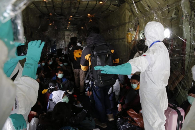 Natuna closes schools as Wuhan evacuees put under quarantine in regency
