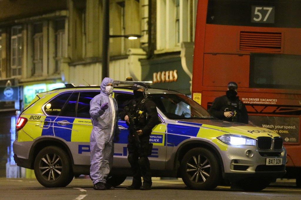 Man shot dead by police in London after 'terrorist-related' stabbing incident
