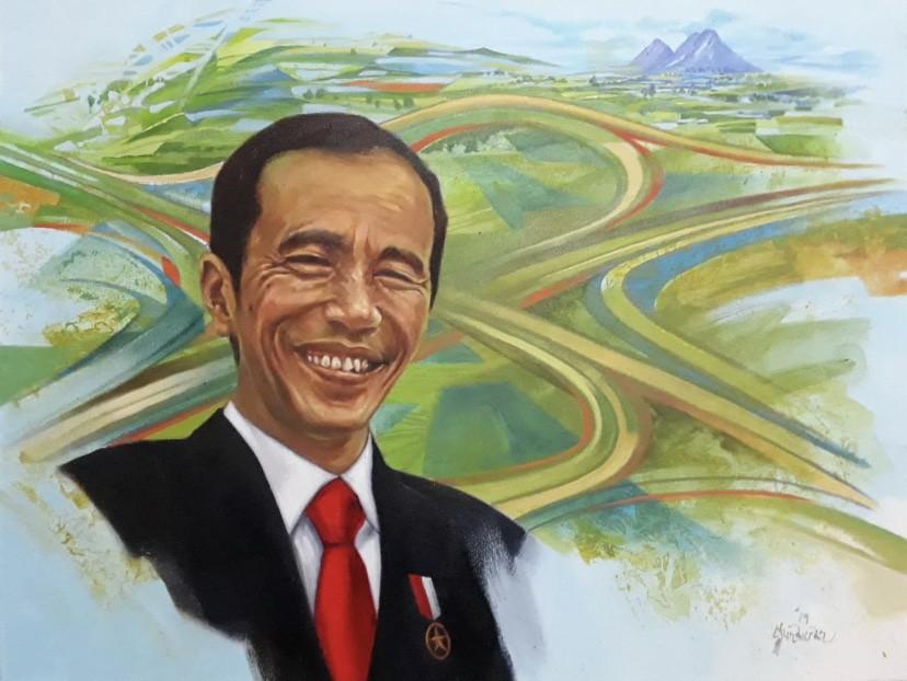 How artists portray President Jokowi's everyman persona