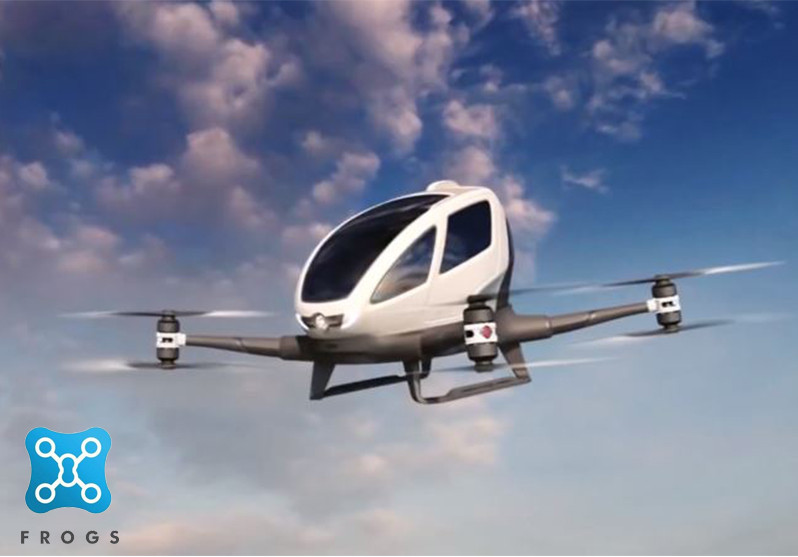 Indonesia startup unveils working prototype of flying taxi
