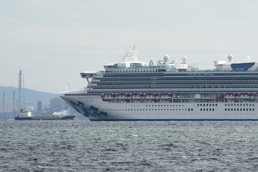 Ten more on cruise ship off Japan have new coronavirus: Local media