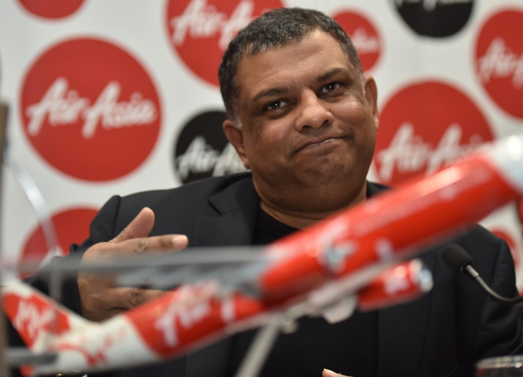$598m funding more than enough for AirAsia: Tony Fernandes