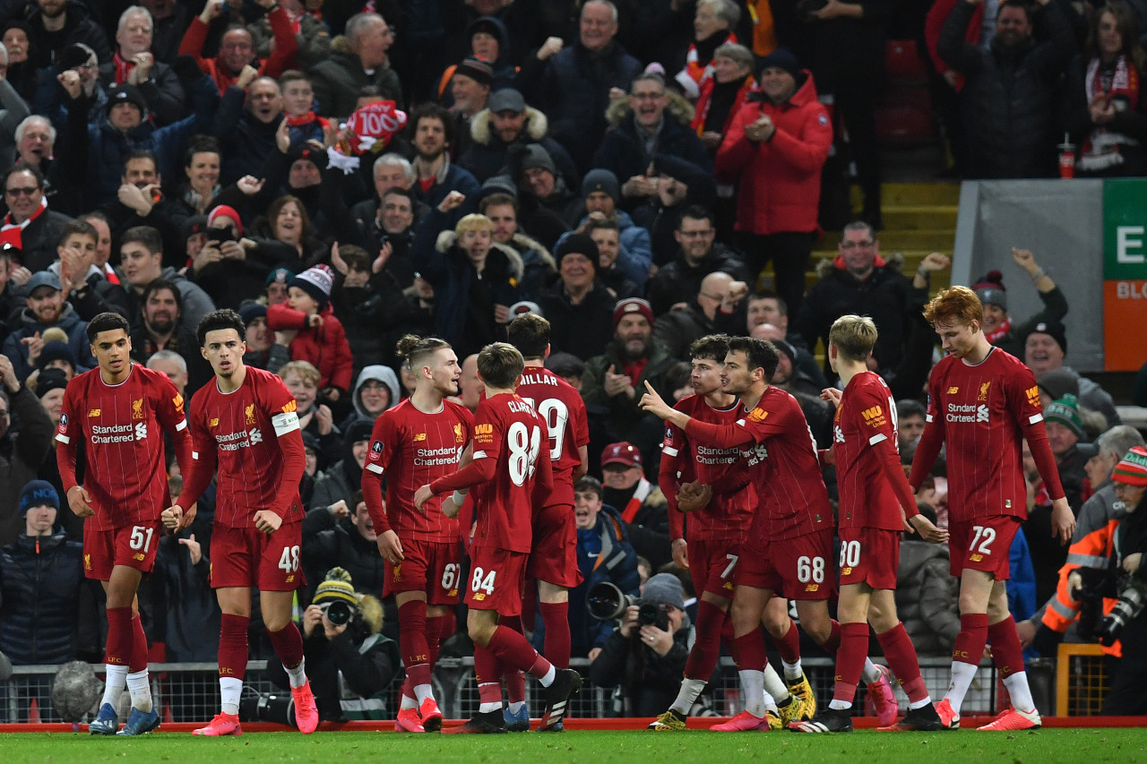 Liverpool youngsters reach FA Cup fifth round