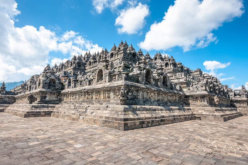 Borobudur temple's Zone 1 reopens to public
