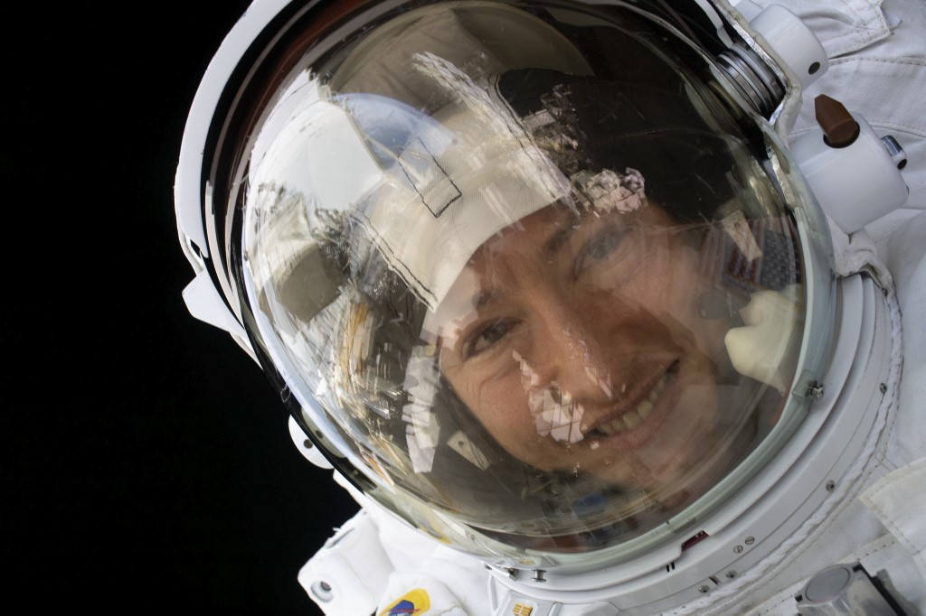 Record-breaking space mission: Christina Koch returns to Earth