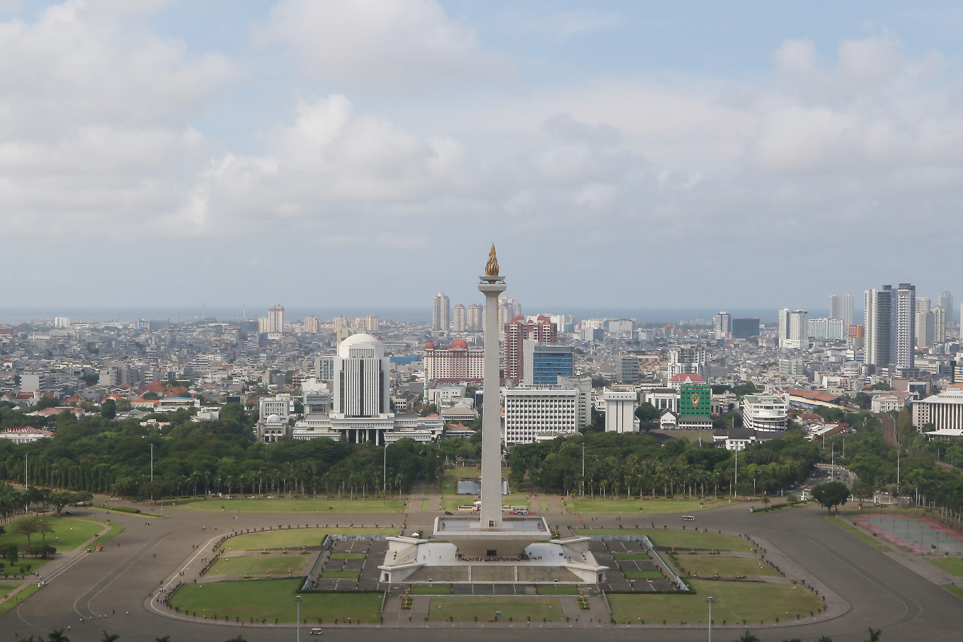 Monas not available for Indonesia's first Formula E race: State Secretariat