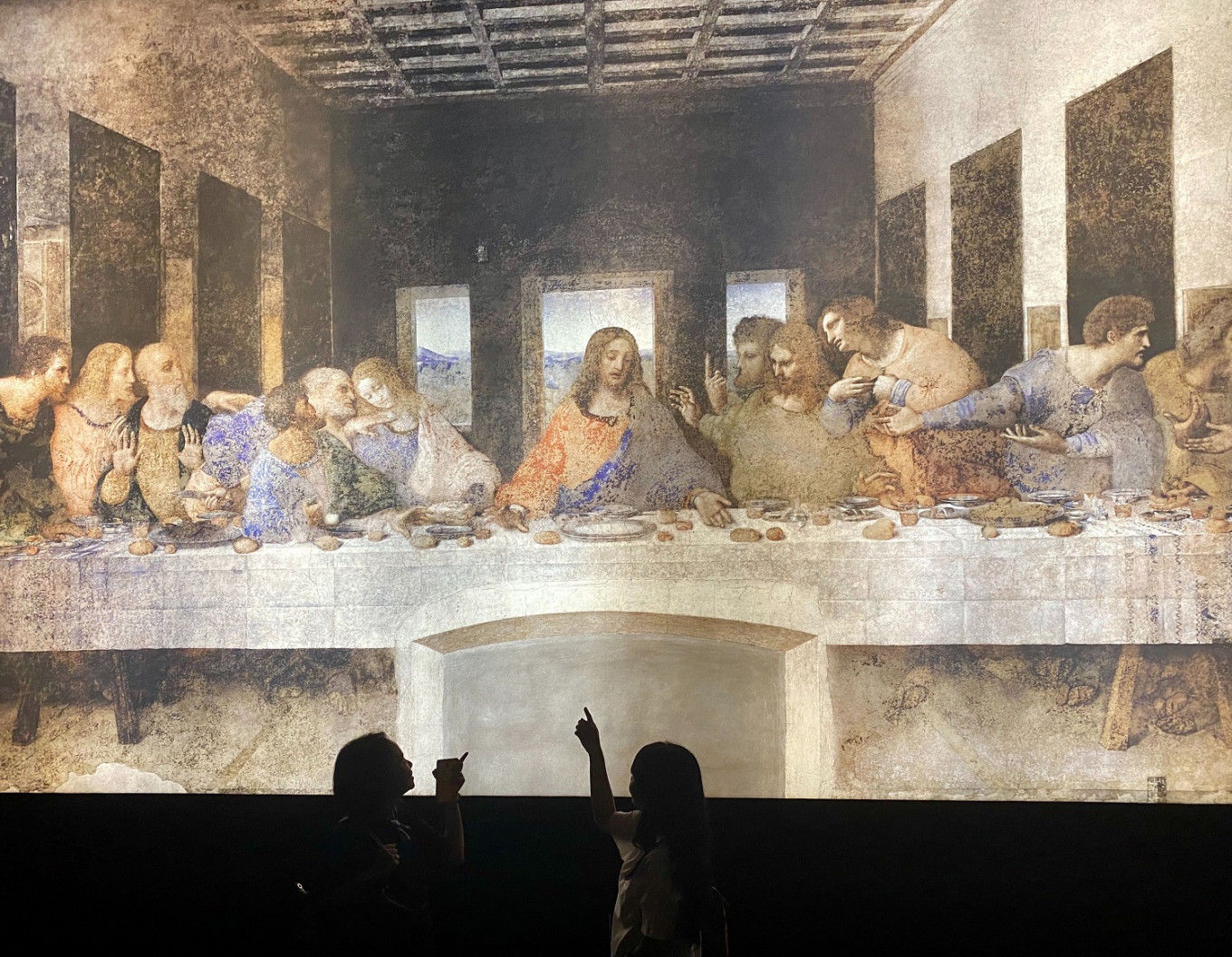 Leonardo da Vinci's art meets science in Jakarta exhibition